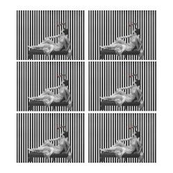 Ant Love Placemat 14'' x 19'' (Six Pieces)