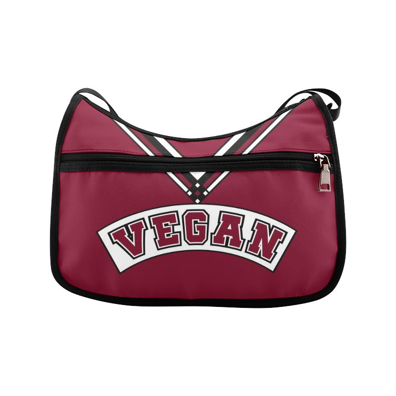 Vegan Cheerleader Crossbody Bags (Model 1616)