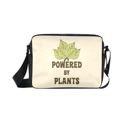 Powered by Plants (vegan) Classic Cross-body Nylon Bags (Model 1632)