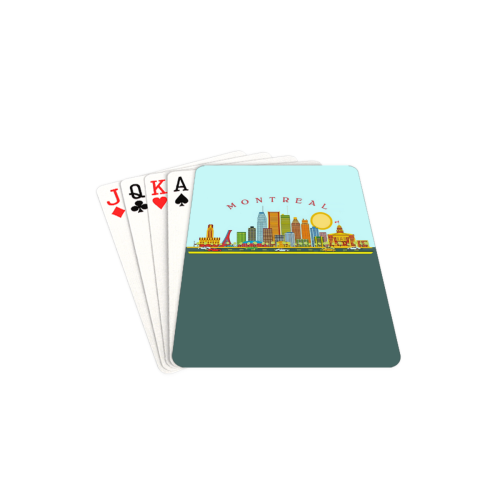 """MONTREAL Playing Cards 2.5""""x3.5"""""""