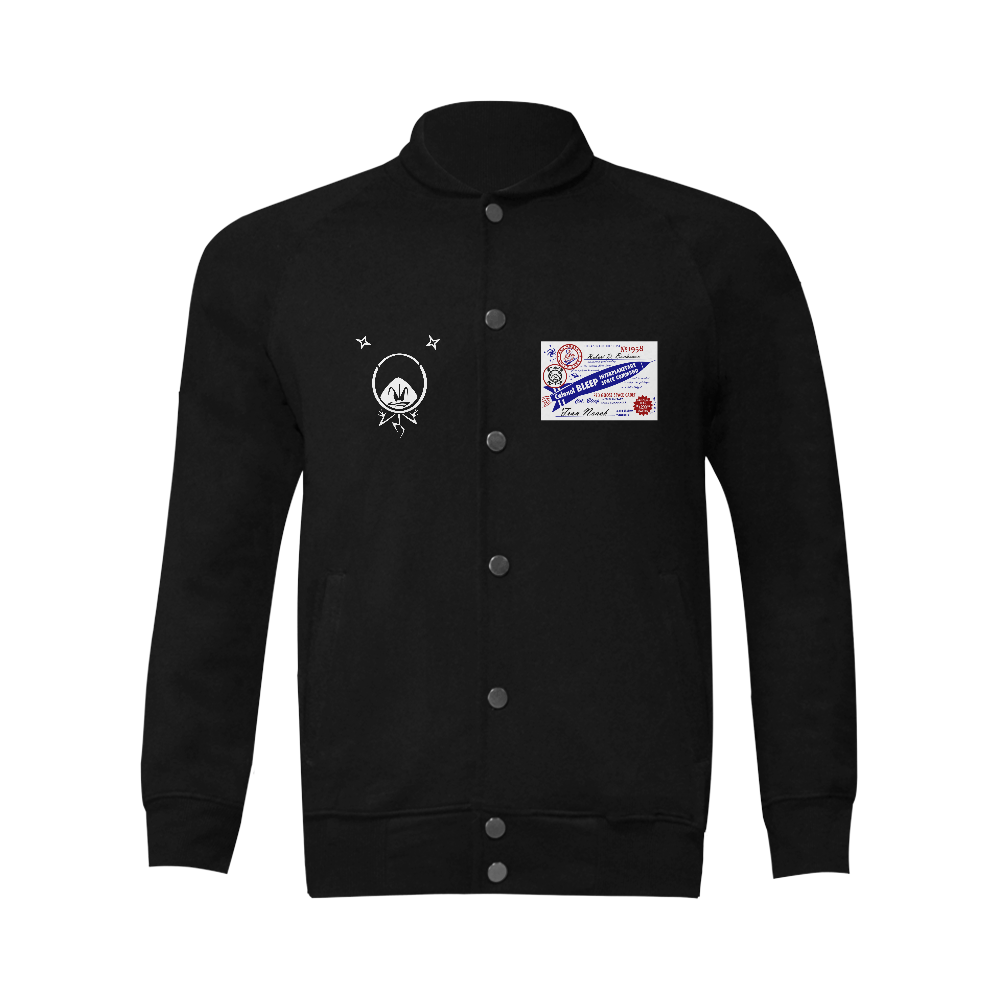 Colonel Bleep Jacket Men's Baseball jacket (Model H12)