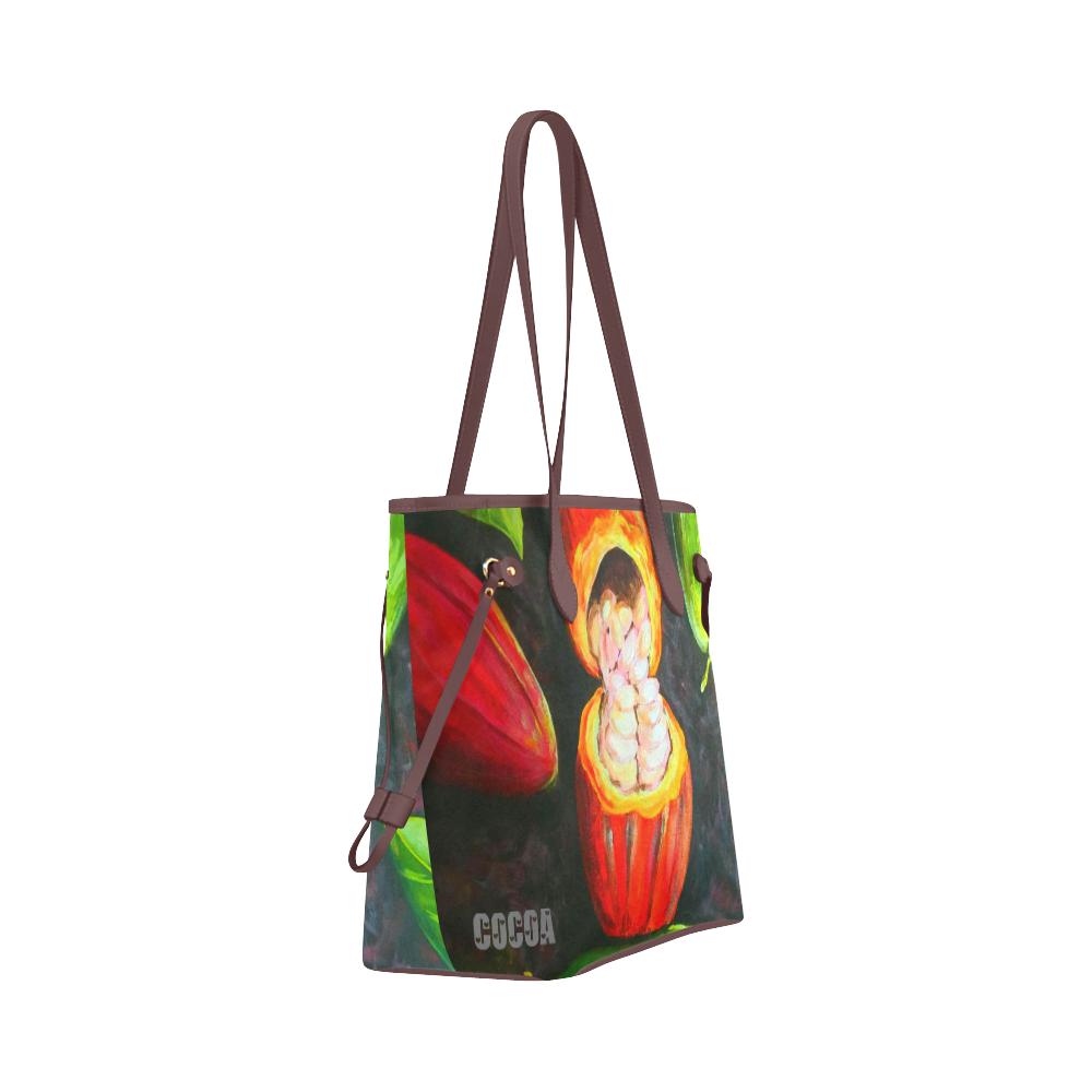 manusartgnd Clover Canvas Tote Bag (Model 1661)