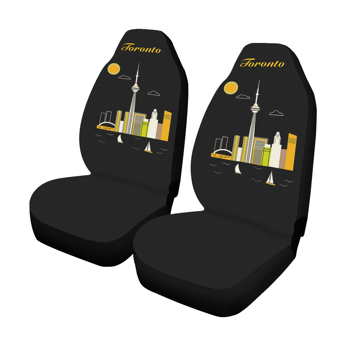 Toronto Car Seat Covers (Set of 2)
