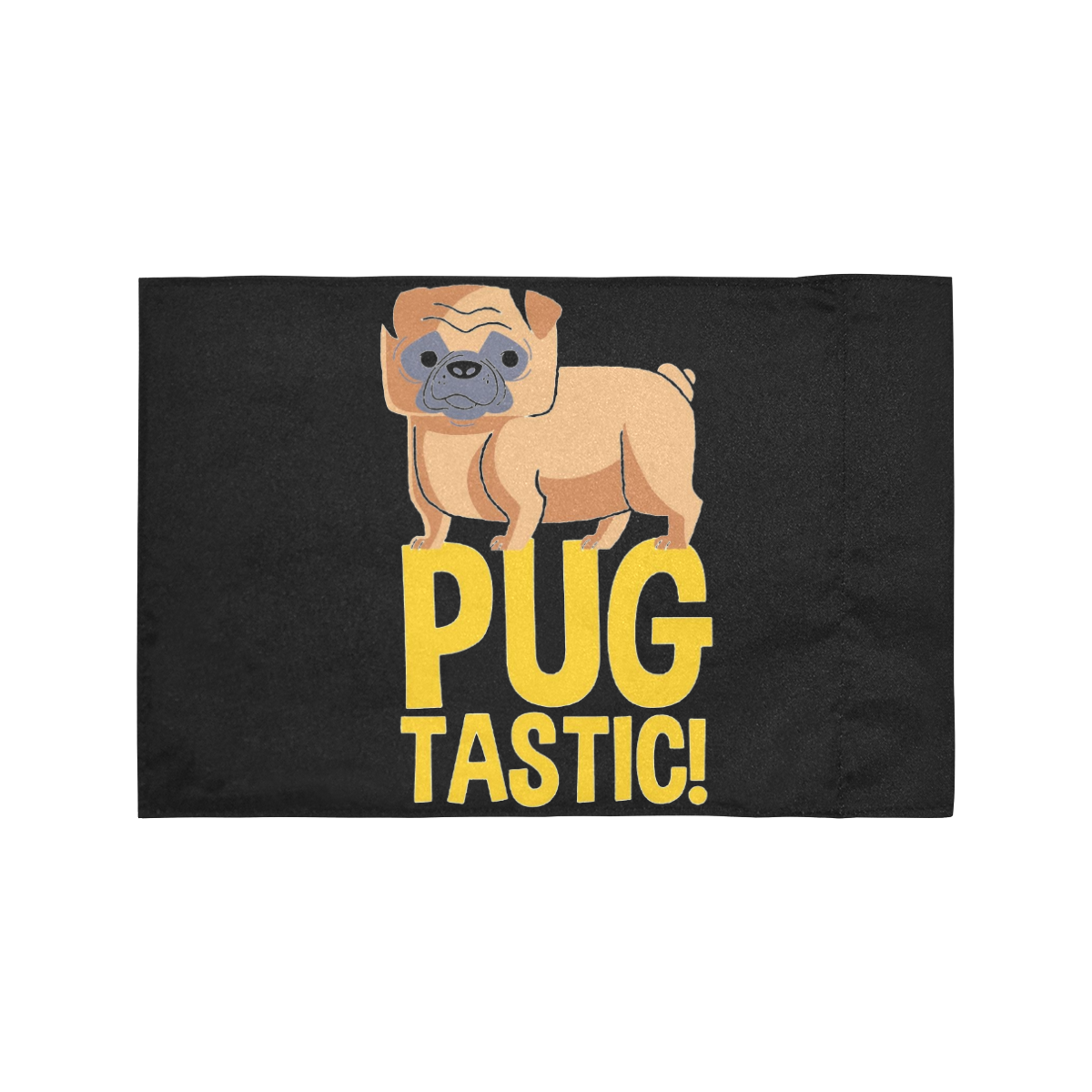 Pug Tastic! Motorcycle Flag (Twin Sides)