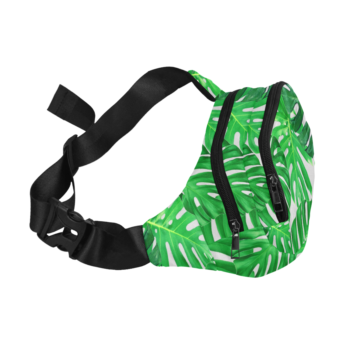 cheeseplant grn Fanny Pack/Small (Model 1677)