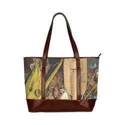 Hieronymus Bosch-The Garden of Earthly Delights (m Tote Handbag (Model 1642)