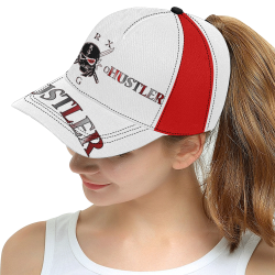 Hustler 80 G Ninja All Over Print Snapback Hat D