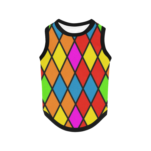 harlequin 1b All Over Print Pet Tank Top