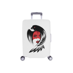 """Raven Lady Luggage Cover/Small 18""""-21"""""""