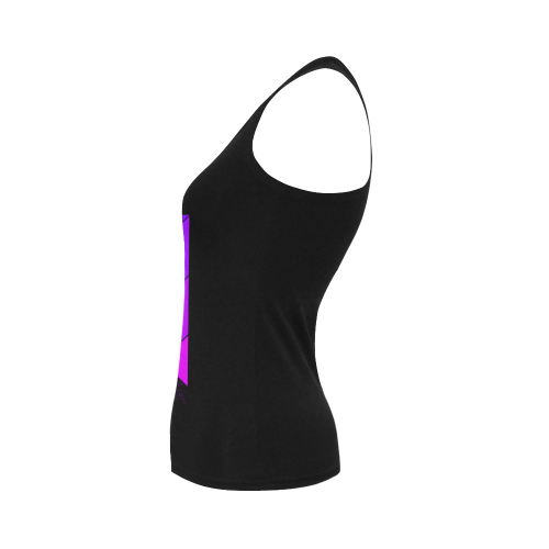 The Lowest of Low Japanese Banner Women's Shoulder-Free Tank Top (Model T35)