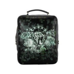 Amazing tigers Square Backpack (Model 1618)