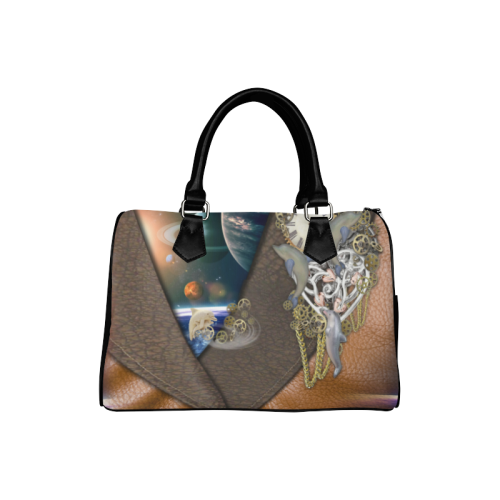Our dimension of Time Boston Handbag (Model 1621)