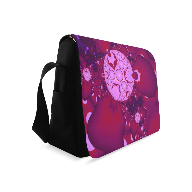 Planetary Bubble Gum Messenger Bag (Model 1628)
