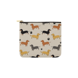 Mixed Weenies Carry-All Pouch 6''x5''