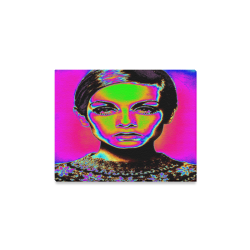 "Pop Art Fashion Canvas Print 14""x11"""