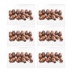 alasa Placemat 14'' x 19'' (Six Pieces)