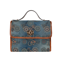 Mandalas Waterproof Canvas Bag/All Over Print (Model 1641)