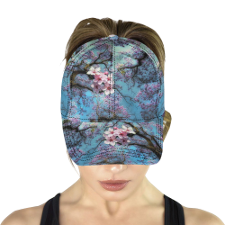 Cherry blossomL All Over Print Dad Cap C (6-Pieces Customization)