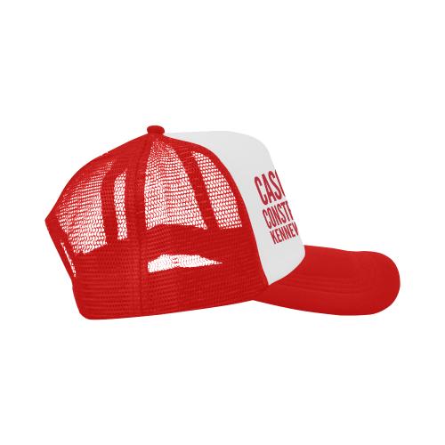 Cascade Construction Red Trucker Hat