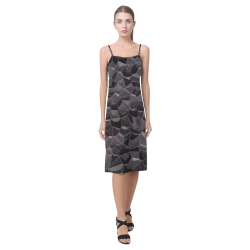 Anthracite Alcestis Slip Dress (Model D05)