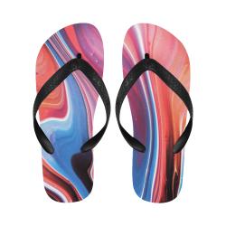 oil_b Flip Flops for Men/Women (Model 040)