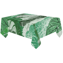 "Tropicalia Cotton Linen Tablecloth 60""x120"""