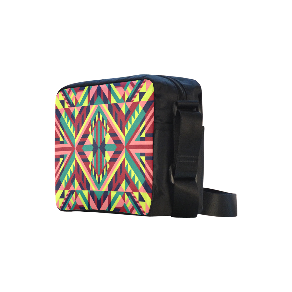 Modern Geometric Pattern Classic Cross-body Nylon Bags (Model 1632)