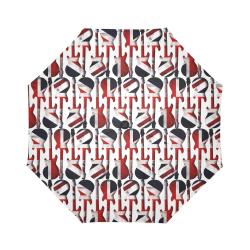 Union Jack British UK Flag Guitars Auto-Foldable Umbrella (Model U04)