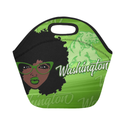 Washington LUNCH TOTE Neoprene Lunch Bag/Small (Model 1669)