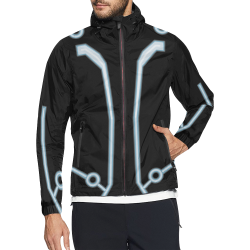 TRON AUB Unisex All Over Print Windbreaker (Model H23)