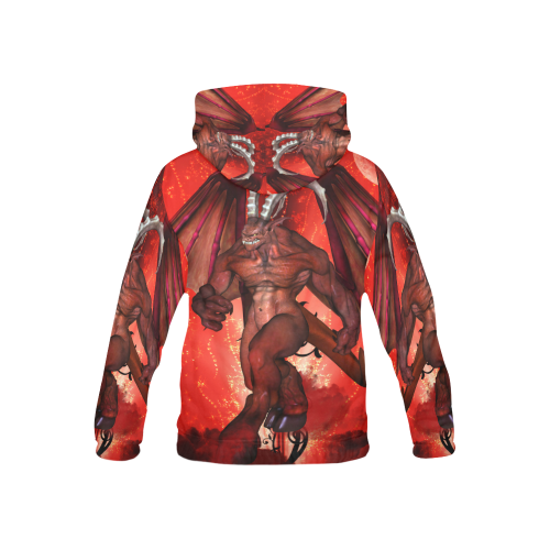 Awesome fantasy creature All Over Print Hoodie for Kid (USA Size) (Model H13)