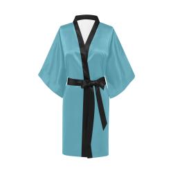 Aquamarine Kimono Robe