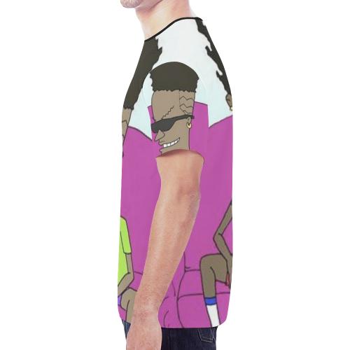 BEAVIS New All Over Print T-shirt for Men (Model T45)