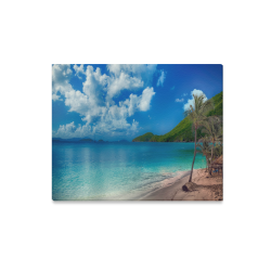 "Beach Escape Canvas Print 20""x16"""