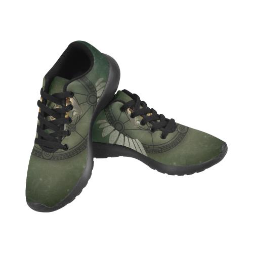 Skull in a hand Men's Running Shoes (Model 020)