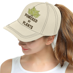 Powered by Plants (vegan) All Over Print Snapback Hat D