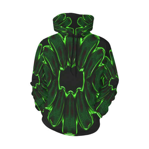 8000  EKPAH 7 low All Over Print Hoodie for Men/Large Size (USA Size) (Model H13)