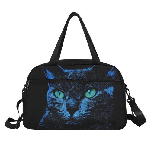 BLUE CAT ART Fitness Handbag (Model 1671)