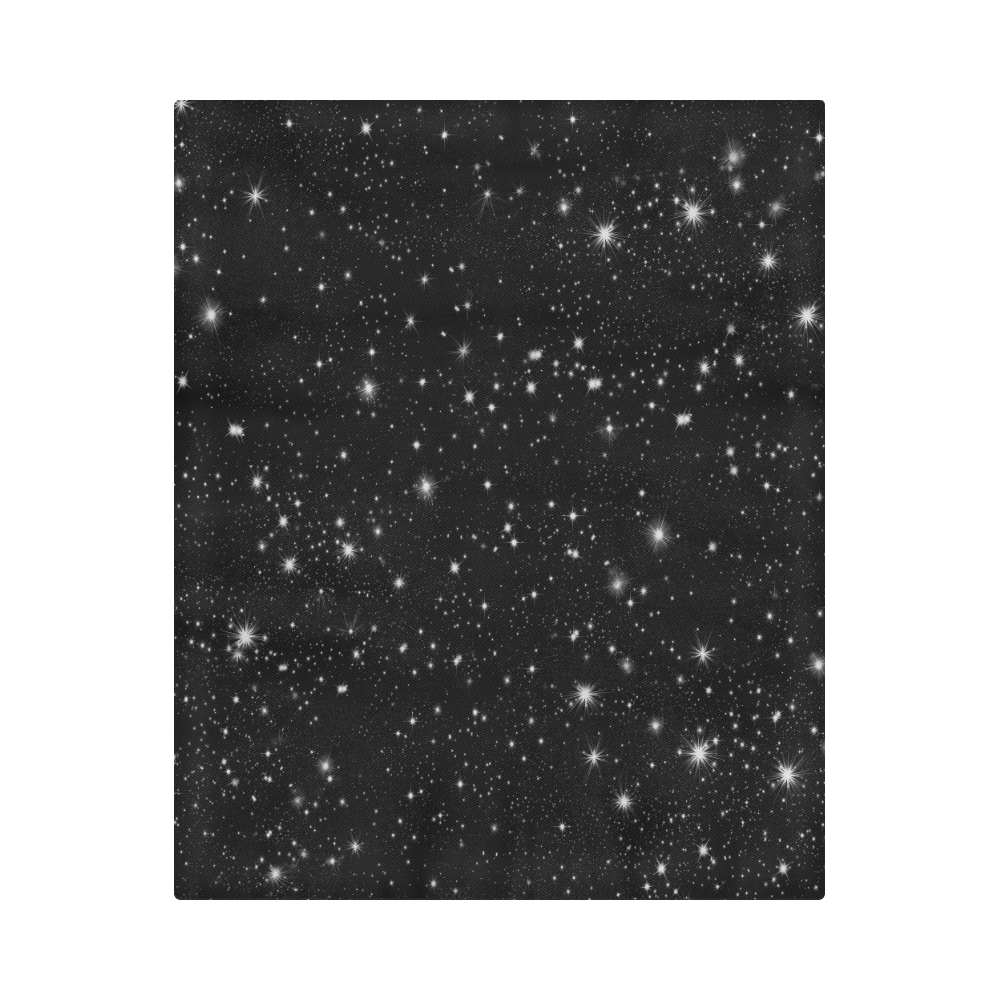"""Stars in the Universe Duvet Cover 86""""x70"""" ( All-over-print)"""