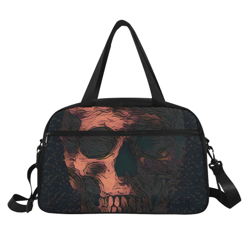 SKULL CULT Fitness Handbag (Model 1671)