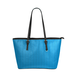 PLASTIC Leather Tote Bag/Small (Model 1651)