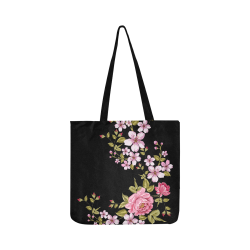 Pure Nature - Summer Of Pink Roses 1 Reusable Shopping Bag Model 1660 (Two sides)