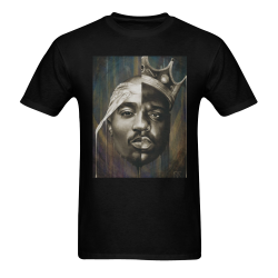PAC-N-BIGGIE Men's T-Shirt in USA Size (Two Sides Printing)