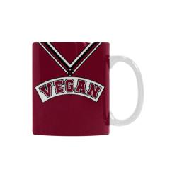 Vegan Cheerleader White Mug(11OZ)