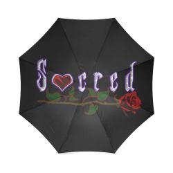 Sacred Large Logo Umbrella Foldable Umbrella (Model U01)
