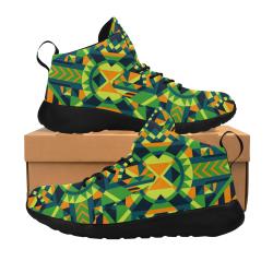 Modern Geometric Pattern Men's Chukka Training Shoes (Model 57502)