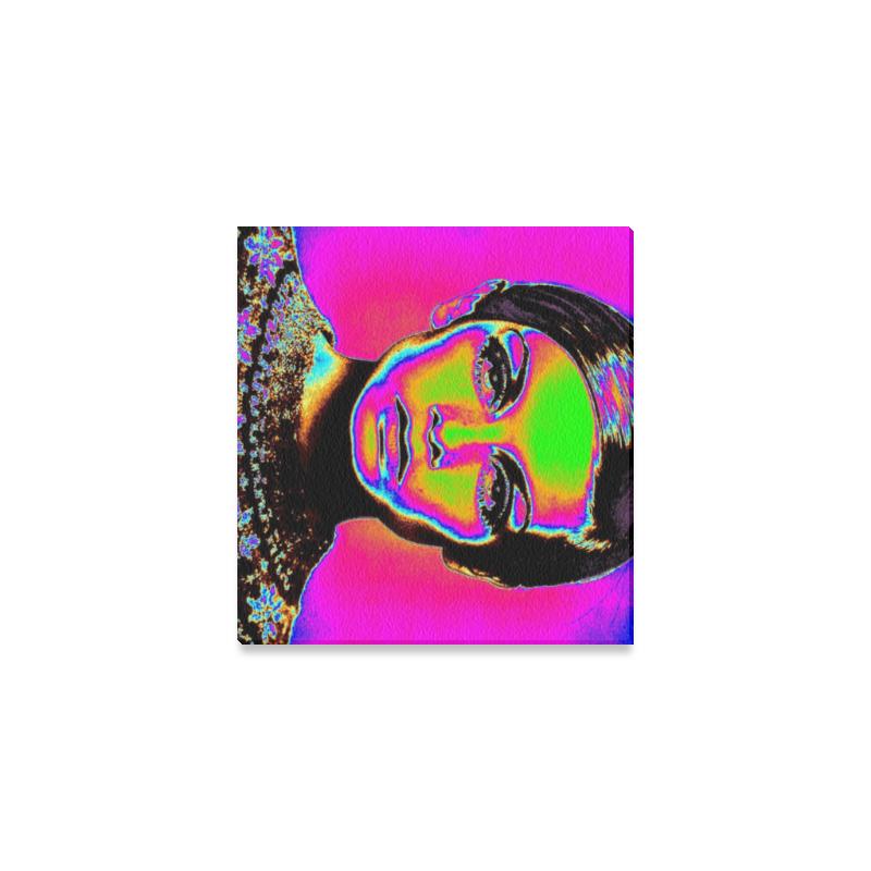 "Pop Art Fashion Canvas Print 6""x4"""