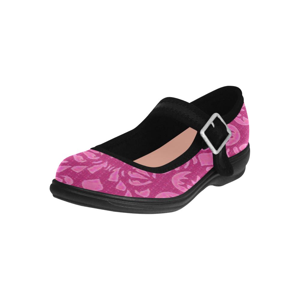 Mauve Natical High Style Virgo Instep Deep Mouth Shoes