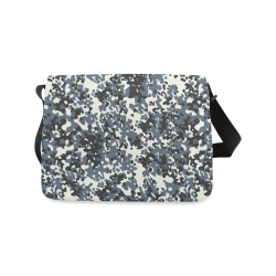 Urban City Black/Gray Digital Camouflage Messenger Bag (Model 1628)