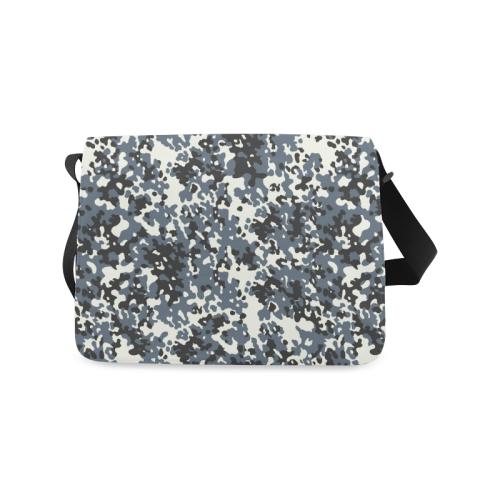 Urban City Black/Gray Digital Camouflage Messenger Bag (Model 1628)